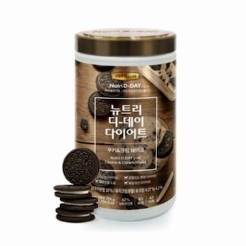 더베이글 뉴트리디데이 다이어트 쿠키앤크림 쉐이크 750g (1개)