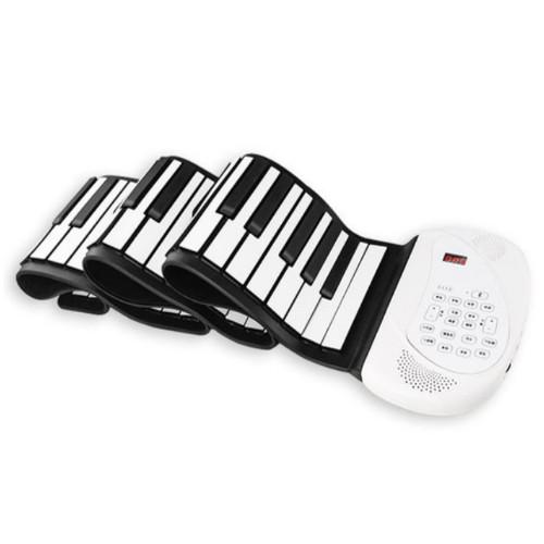 휴대용 디지털 피아노 전자 건반 포더블 롤업 ebc38