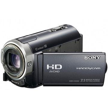 SONY HandyCam HDR-CX300 (중고품)_이미지