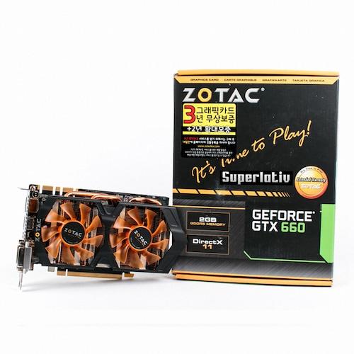 ZOTAC 지포스 GTX660 수퍼라티브 D5 2GB_이미지