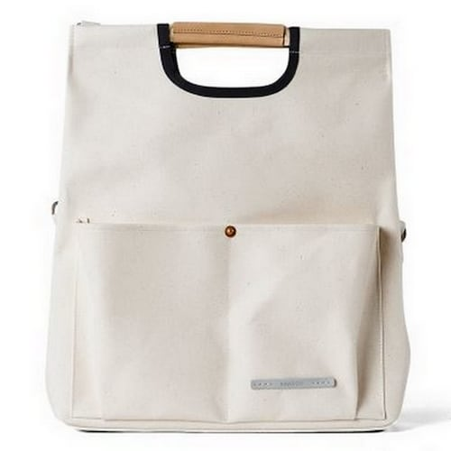 로우로우 PARK PACK FOLDING TOTE 281 CANVAS (OFF WHITE)_이미지