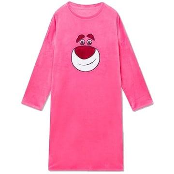 스파오 토이스토리 알린과 랏쏘 원피스 잠옷 SPPPA4TU11 (핑크)_이미지