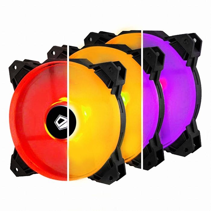 ID-COOLING SF-12025 RGB TRIO (3PACK/REMOTE CONTROL)