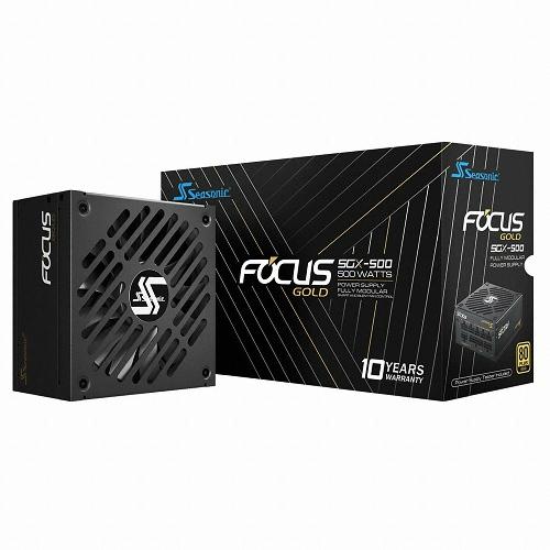 시소닉 FOCUS SFX-L SSR-500SGX Gold Full Modular