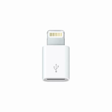 APPLE  Lightning-Micro USB 어댑터 MD820FE/A (벌크)