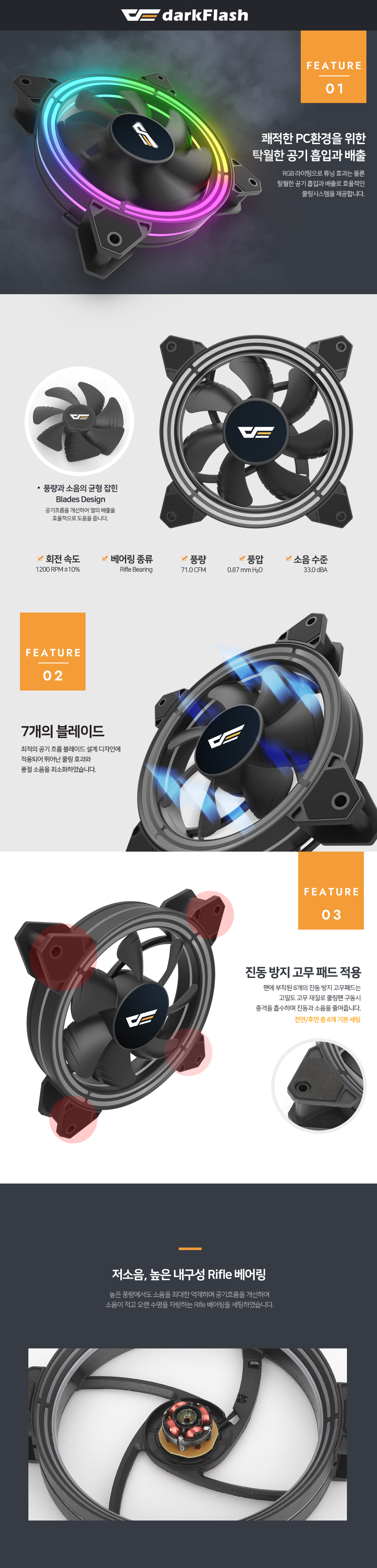 darkFlash CF140 PRO ARGB (1PACK)