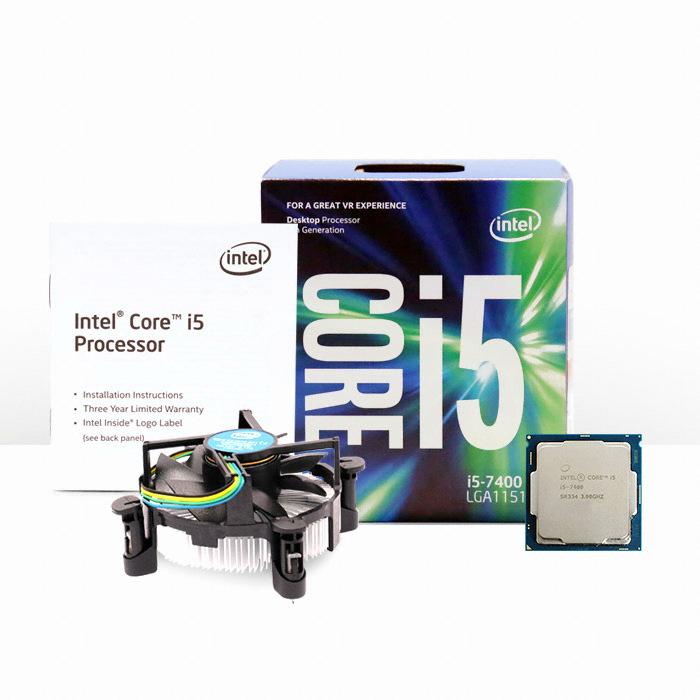 인텔 코어i5-7세대 7400 (카비레이크) (정품)