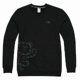 노스페이스  수호랑 스��셔츠 (OM5MI53A, 블랙)_이미지