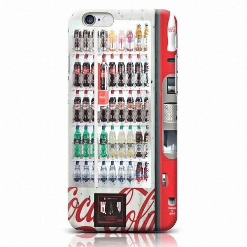 로펠  갤럭시 노트4 코카콜라 음료 자판기 하드 케이스_이미지