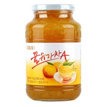 담터 꿀유자차A 1kg(1개)