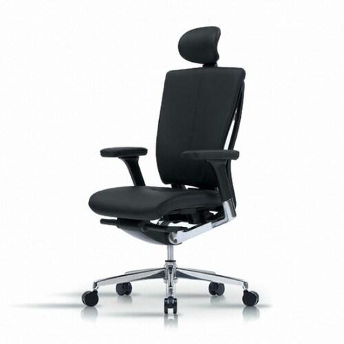 퍼시스 리플라이 의자 CHN4100HE (천연가죽등판)_이미지
