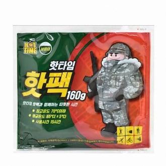 유오피스 핫타임 보온대 핫팩 160g (100개)_이미지