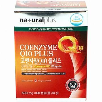 내츄럴플러스 코엔자임Q10 플러스 60캡슐(1개)