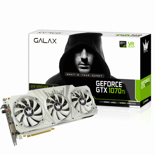 갤럭시 GALAX 지포스 GTX1070 Ti Hall Of Fame D5 8GB