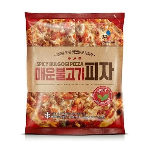 CJ제일제당  매운 불고기 피자 105g (3개)_이미지