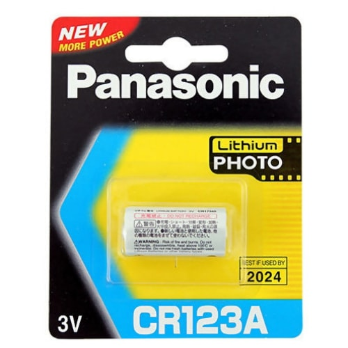 파나소닉 리튬 포토 CR123A (1알)_이미지
