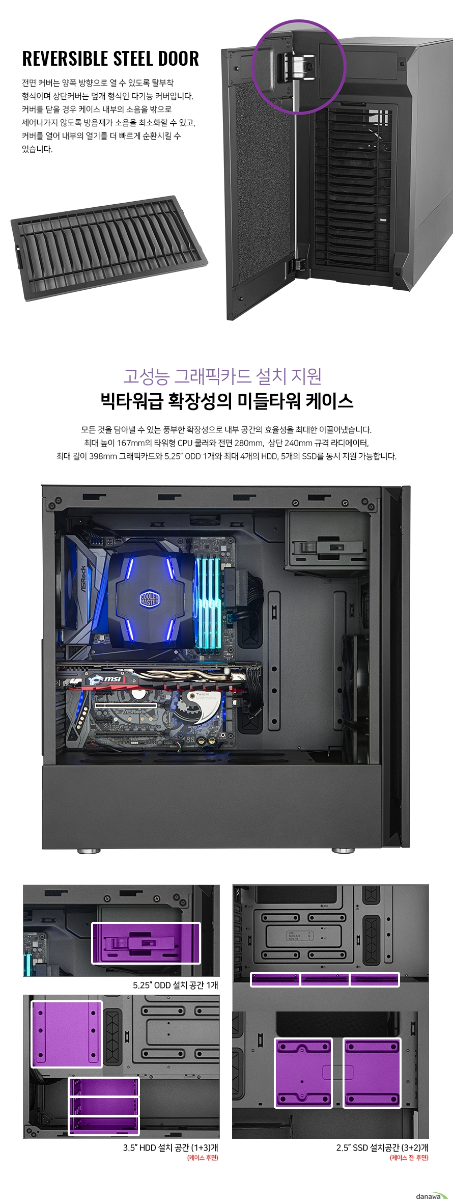 쿨러마스터 Silencio S600 STEEL