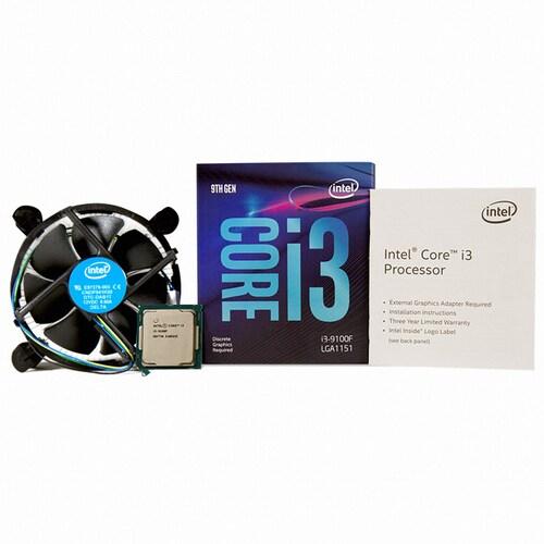 [CPU] 인텔 코어i3-9세대 9100F (커피레이크-R)