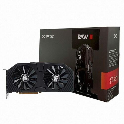 XFX 라데온 RX 5700 XT RAW D6 8GB_이미지