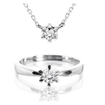 [2종] 에버링 14K 천연 다이아몬드 0.4캐럿 크라운 2종 세트
