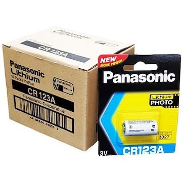 파나소닉 리튬 포토 CR123A (10알)_이미지