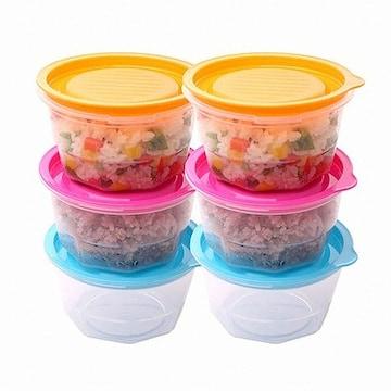 나인웨어 바로밥 전자렌지 냉동밥 보관 밀폐용기 세트(6개)