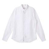 코오롱인더스트리 커스텀멜로우 컬러 플라켓 캐주얼 셔츠 CWSAM16311WHX_이미지