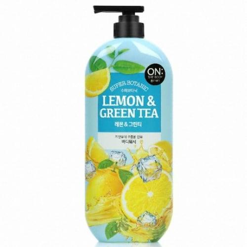 온더바디 수퍼보타닉 레몬&그린티 바디워시 900g (1개)_이미지