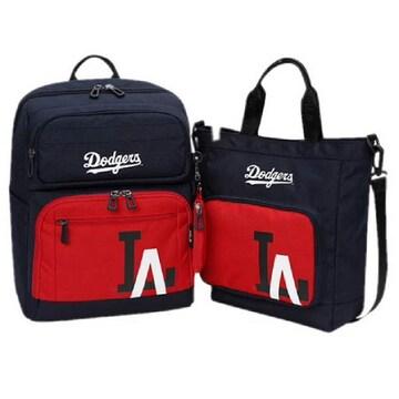 MLB키즈 메이저 로고 포인트 백팩 세트 (72BG03911-07R)