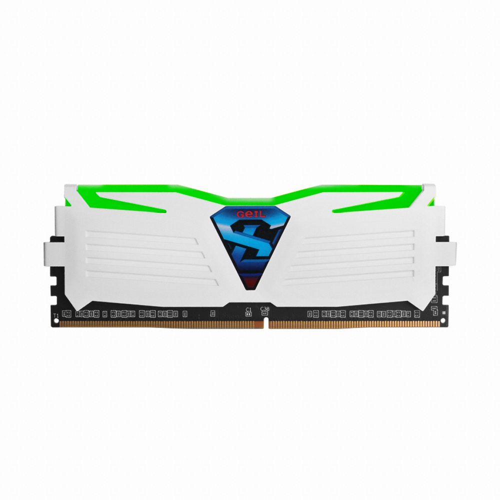 GeIL DDR4 8G PC4-17000 CL15 SUPER LUCE WHITE 그린