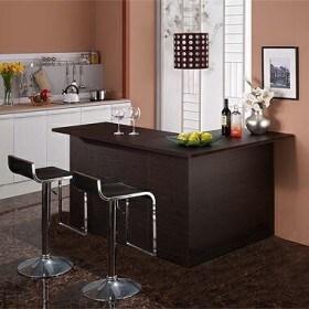 모던탑21  모던-디럭스 기본형 홈바 테이블 120cm (의자별도)