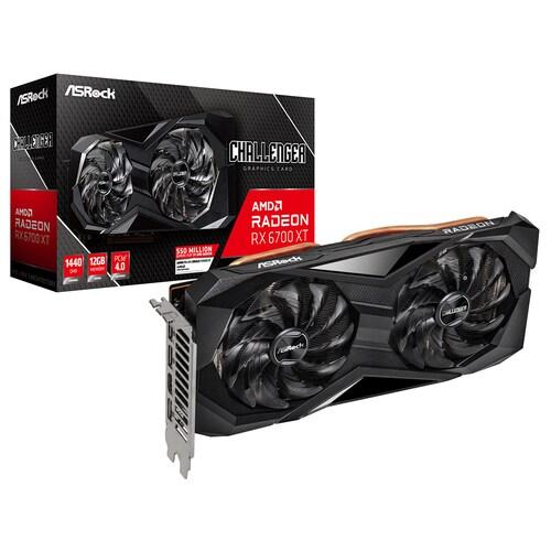 (실재고보유) ASRock 라데온 RX 6700 XT CHALLENGER D D6 12GB 에즈윈