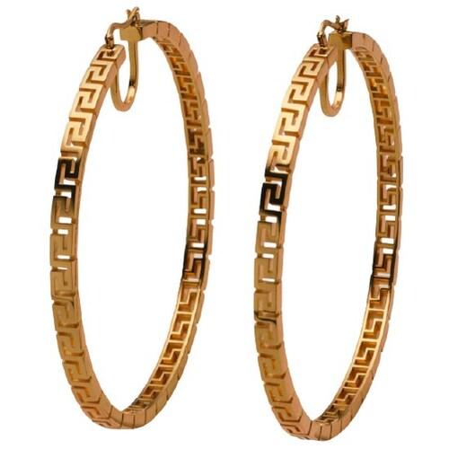 베르사체 Greca Hoop Earrings DG2H498 DJMT KOT_이미지