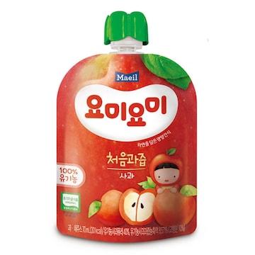 매일유업 맘마밀 요미요미 처음 사과 70ml (1개)