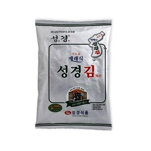 성경식품 지도표성경김 재래식 성경김 30g (7개)_이미지