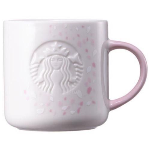 스타벅스 체리블라썸 벚꽃 사이렌 핑크 머그 355ml