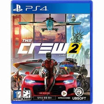 UBIsoft 더 크루 2 (The Crew 2) PS4(한글판,일반판)
