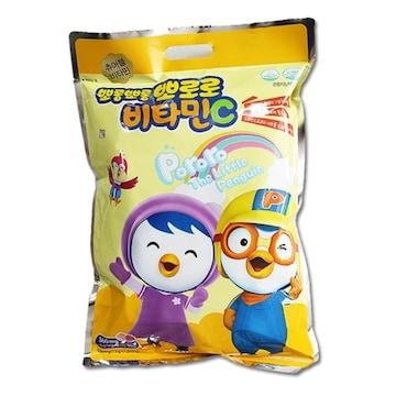 비엠제약  뽀롱뽀롱 뽀로로 비타민C 복숭아맛 1000정 (1개)