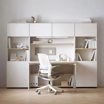 데스커  콘센트형 책상세트 (120x59cm)