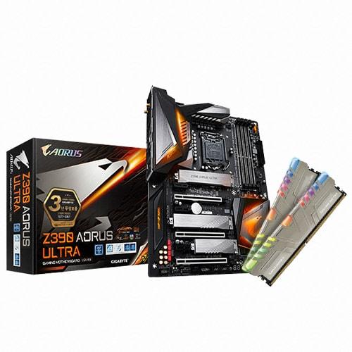 GIGABYTE Z390 AORUS ULTRA + RGB RAM 16GB 제이씨현_이미지