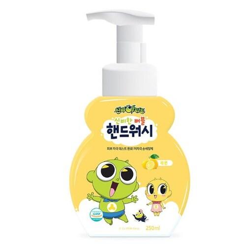 CJ ENM 신비아파트 레몬 버블 핸드워시 250ml (4개)_이미지