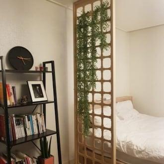 에코리빙 우드레이 가벽 인테리어 디자인 파티션 635mm_이미지