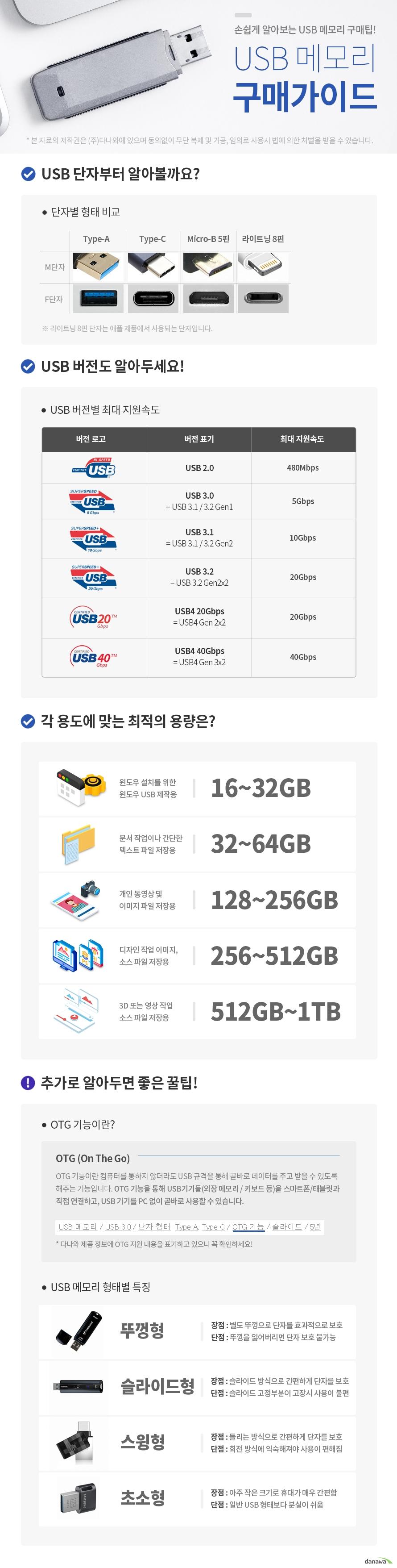 메모렛 스마트 스윙 OTG Type C (8GB)