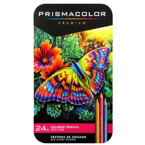 샌포드 프리즈마 유성 색연필 (24색)