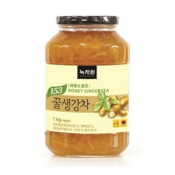 녹차원  꿀생강차 1kg (1개)