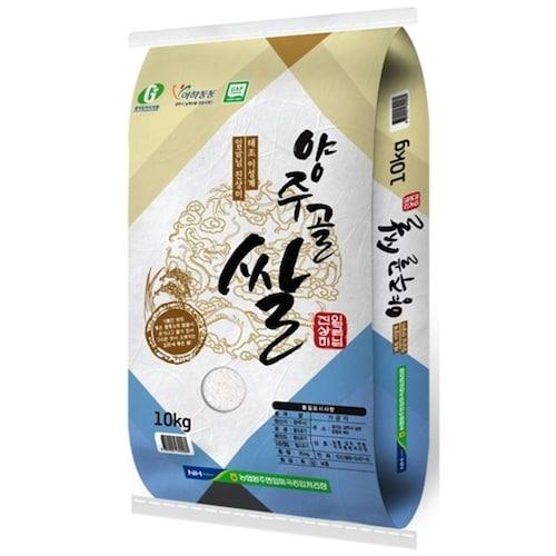 양주농협 양주골쌀 임금님 진상미 10kg (19년 햅쌀) (1개)_이미지