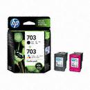 HP 정품 703 (F6V32AA) CD887AA + CD888AA