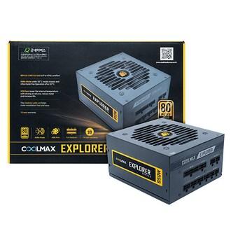 마이크로닉스 COOLMAX EXPLORER 850W 80Plus Gold 230V EU 풀모듈러_이미지