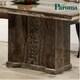 파로마 루크 천연대리석 식탁세트 A02 (의자4개)_이미지