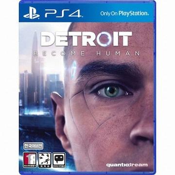 quanticdream  디트로이트: 비컴 휴먼 (DETROIT: Become Human) PS4 (한글판,일반판)